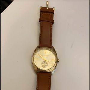 Michael Kors Brown Leather Women's Watch